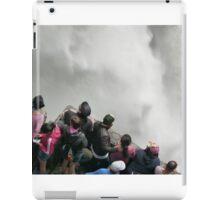 Pailon del Diablo falls  iPad Case/Skin