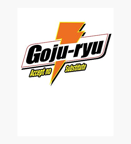Goju Ryu Photographic Print