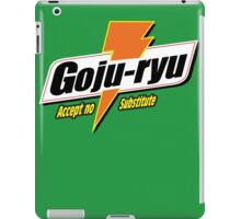 Goju Ryu iPad Case/Skin