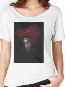 Goofy in a Red Turban Women's Relaxed Fit T-Shirt