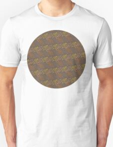 Autumn Leaves Pattern V Unisex T-Shirt