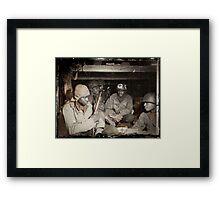 African American Medics WWII Framed Print