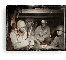 African American Medics WWII Canvas Print
