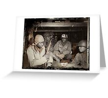 African American Medics WWII Greeting Card