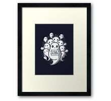Ghost problems Framed Print
