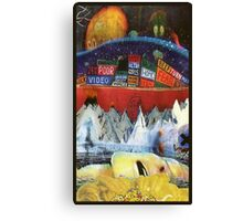 Radiohead album covers Canvas Print