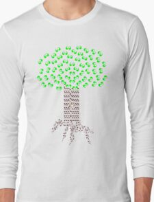 Music Tree in Color Long Sleeve T-Shirt