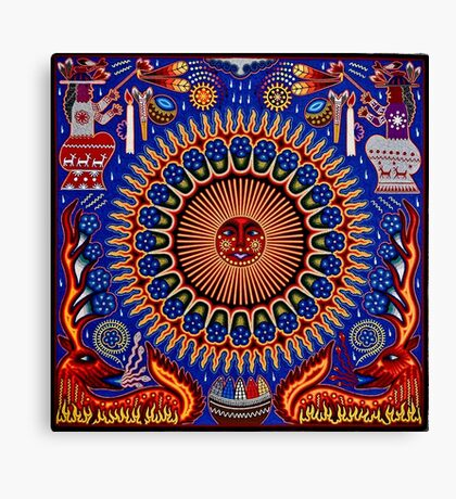 Mexican Folk Art Canvas Print