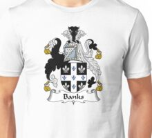 Banks Coat of Arms / Banks Family Crest Unisex T-Shirt