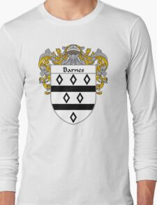 Barnes Coat of Arms/Family Crest Long Sleeve T-Shirt