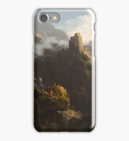 THOMAS COLE, LANDSCAPE, COMPOSITION, ST. JOHN IN THE WILDERNESS iPhone Case/Skin