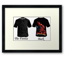 spider-man T-shirts Framed Print