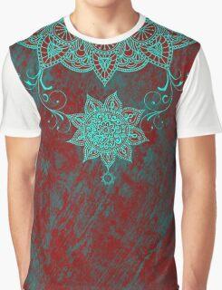 Mandala drop Graphic T-Shirt
