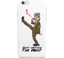 Basil Fawlty - Funny Walk - Fawlty Towers iPhone Case/Skin