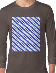 Nautical blue white black 2B Long Sleeve T-Shirt