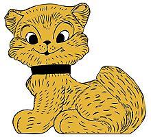 Cat clip art Photographic Print
