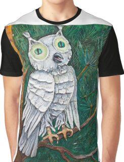 white night bird Graphic T-Shirt
