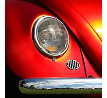 Orange Zest ~ VW Beetle Image Photographic Print