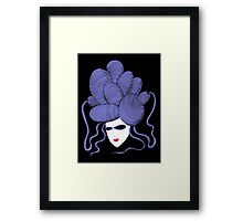 Evil Eye Enigma Framed Print