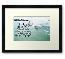 Always Wear Your Crown Framed Print