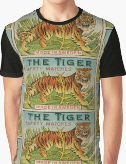 The Tiger Safety Matches Graphic T-Shirt