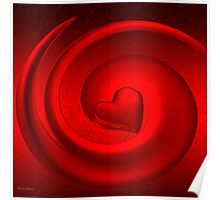 A Woman's Heart/ART + Product Design Poster