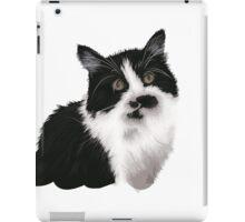 Cute black and white cat iPad Case/Skin