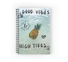 Good Vibes Only Spiral Notebook