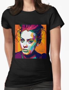 adele in WPAP Womens Fitted T-Shirt