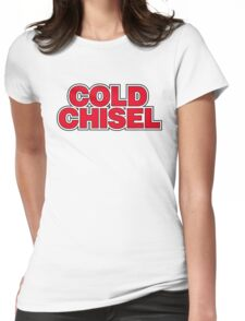 cold chisel logo Womens Fitted T-Shirt