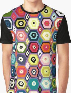 hex diamond purple Graphic T-Shirt
