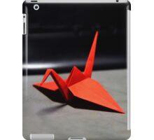 Red Origami Crane iPad Case/Skin