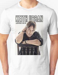 Keith Urban RipCord World Tour 2016 T-Shirt