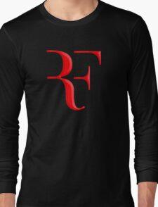 rf, roger federer, roger, federer, tennis, wimbledon, grass, tournament, ball, legend, sport, australia, nadal, net, cool, logo, perfect. Long Sleeve T-Shirt