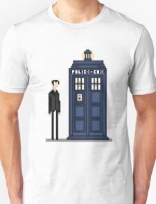 Pixel ninth Doctor T-Shirt