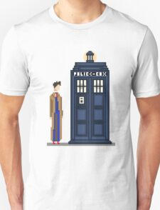 Pixel tenth Doctor T-Shirt