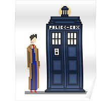 Pixel tenth Doctor Poster