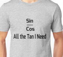 Trig Math Joke Unisex T-Shirt