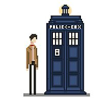 Pixel eleventh Doctor Photographic Print