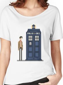 Pixel eleventh Doctor Women's Relaxed Fit T-Shirt