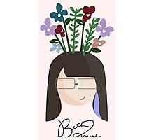 Flowerhead - the Aspiring Designer Photographic Print