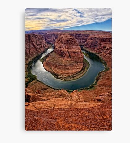 View of the Bend Canvas Print