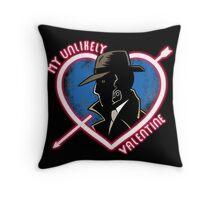 Clockwork Dick Throw Pillow
