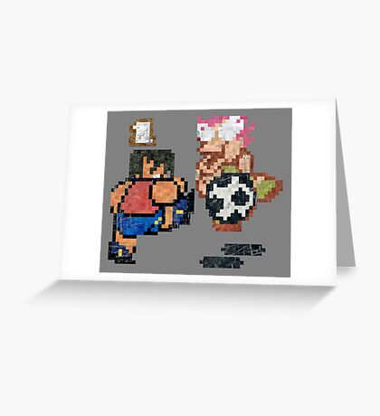 World Cup Soccer Shot Greeting Card