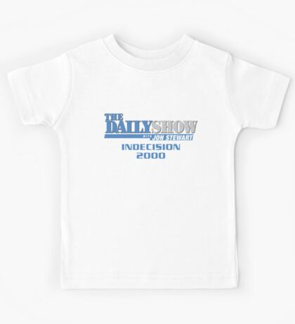 The Daily Show with Jon Stewart: Indecision 2000 Kids Tee