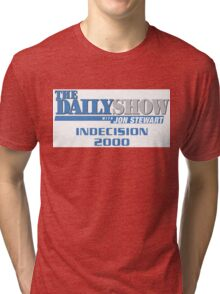 The Daily Show with Jon Stewart: Indecision 2000 Tri-blend T-Shirt