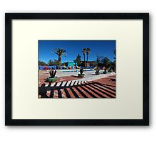 Time to Head to the Pool Framed Print