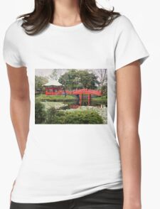 A Walk in the Garden Womens Fitted T-Shirt