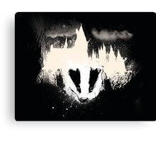 Hogwarts Hufflepuff Badger Canvas Print