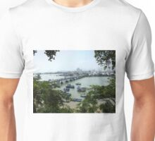 View of Cai River from Po Nagar Cham Tower Unisex T-Shirt